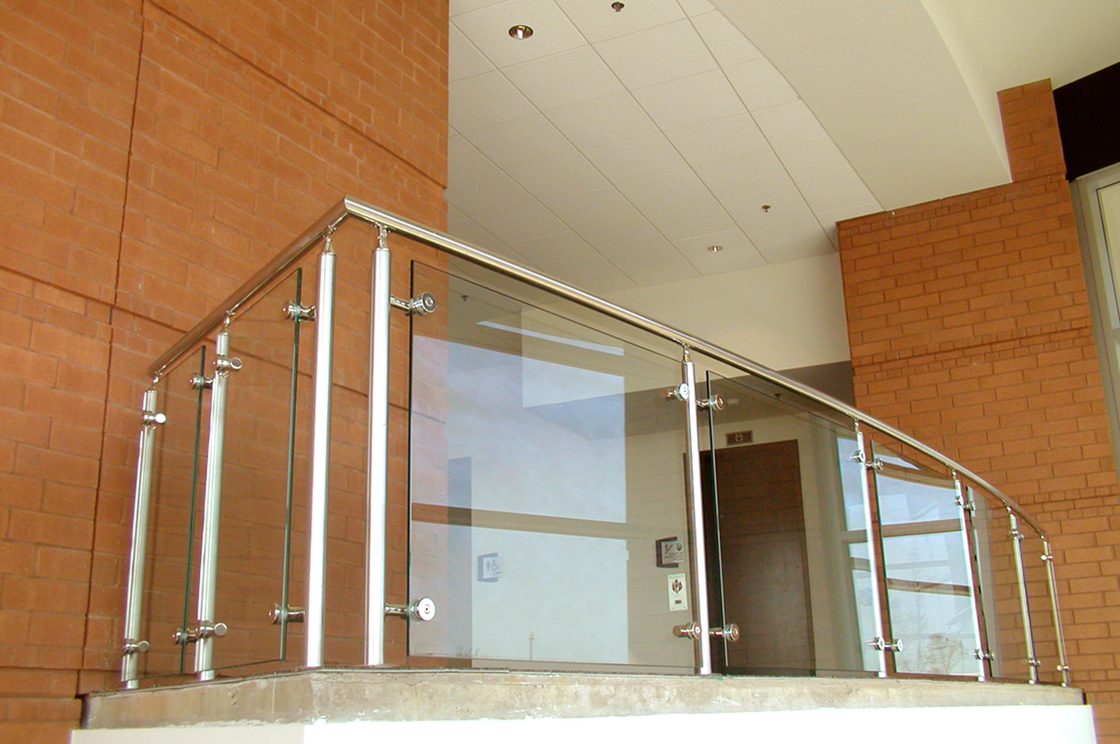 Balcony glass railing designs pictures images.